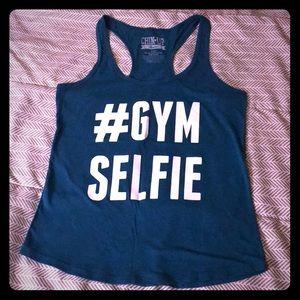 # GYM SELFIE workout tank